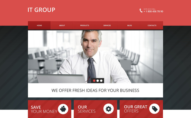 IT Group Drupal Template