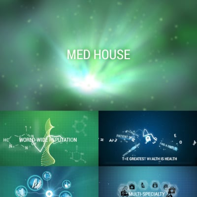 Medical after effects intros for Custom video intro templates