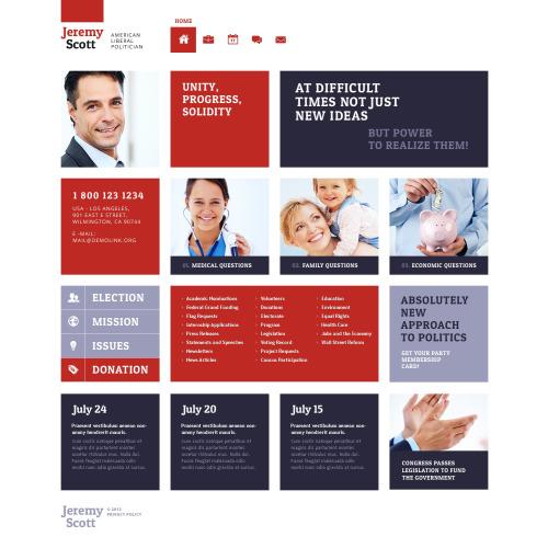 Jeremy Scott - Website Template based on Bootstrap