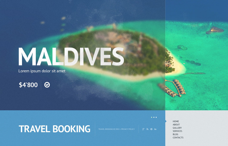 Travel Store Website Template New Screenshots BIG