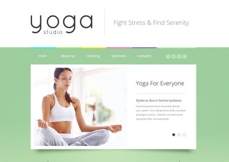 Yoga Responsive