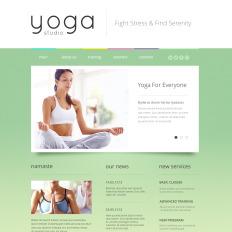 16 best yoga website templates