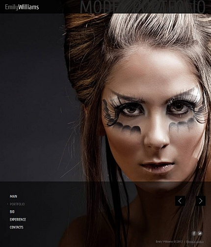 ADOBE Photoshop Template 46604 Home Page Screenshot