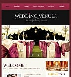 Wedding Facebook HTML CMS  Template 46612