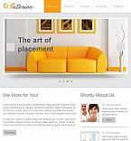 Furniture Facebook HTML CMS  Template 46615