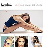 Art & Photography Facebook HTML CMS  Template 46616