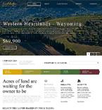 Real Estate Website  Template 46619