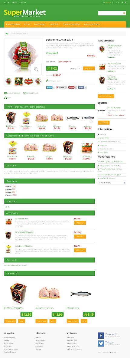 ADOBE Photoshop Template 46630 Home Page Screenshot