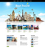 Travel Joomla  Template 46634