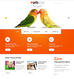 Animals & Pets Joomla  Template 46636