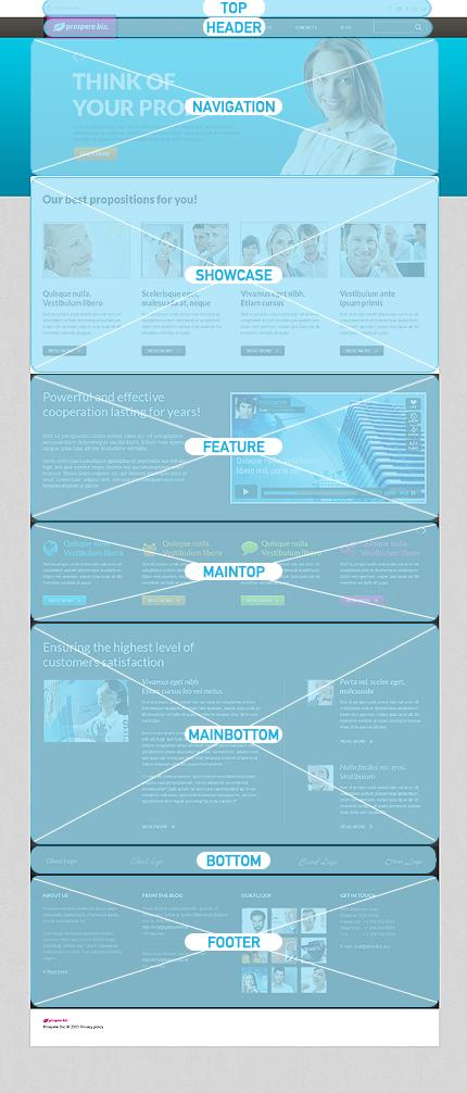 Joomla Theme/Template 46638 Main Page Screenshot