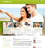 Dating Joomla  Template 46641