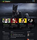Games Joomla  Template 46642