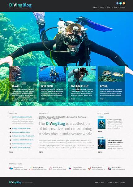 Joomla Theme/Template 46643 Main Page Screenshot