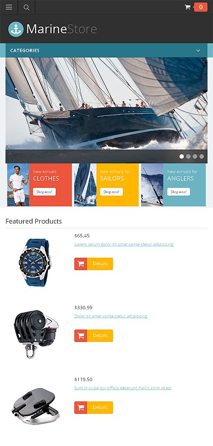 ADOBE Photoshop Template 46648 Home Page Screenshot