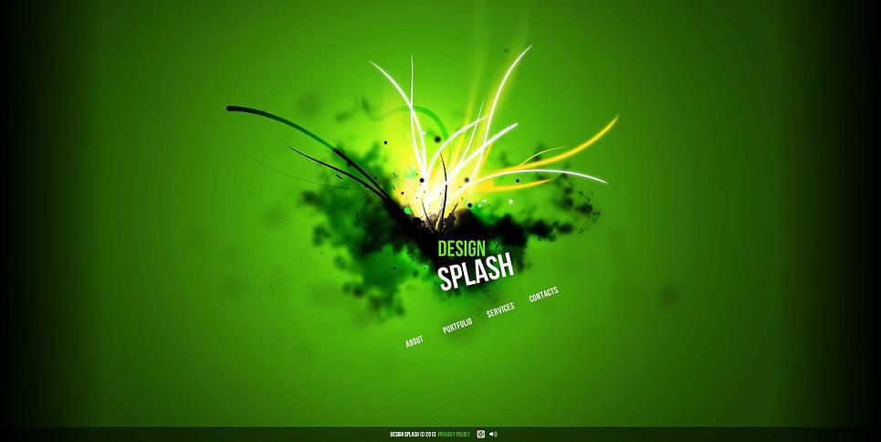 Prémium Design studiók  Flash CMS sablon New Screenshots BIG