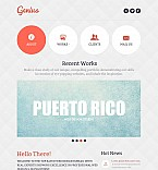 Web design Flash CMS  Template 46663