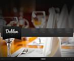 Cafe & Restaurant Flash CMS  Template 46667