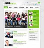 Education Flash CMS  Template 46668