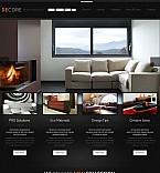 Furniture Flash CMS  Template 46669