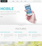 Communications Flash CMS  Template 46670