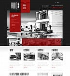Architecture Flash CMS  Template 46673