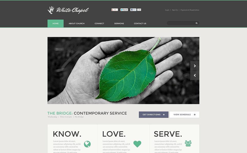 Szablon Flash CMS #46683 na temat: dobroczynność New Screenshots BIG