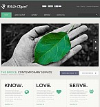 Charity Flash CMS  Template 46683