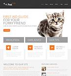 Animals & Pets Drupal  Template 46694