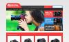 Адаптивный PrestaShop шаблон №46626 на тему видео-магазин New Screenshots BIG
