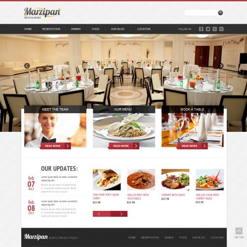 Marzipan - Joomla! Template based on Bootstrap