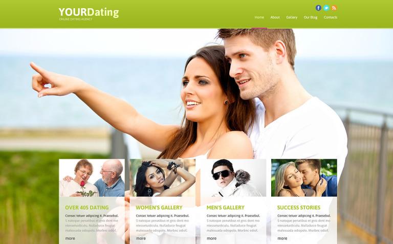 Dating Responsive Joomla Template