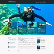 Diving Scuba Joomla Template