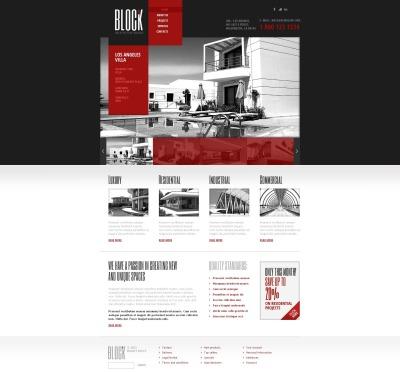 Architecture Tema Flash CMS