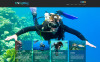 Modello Joomla Responsive #46643 per Un Sito di Diving New Screenshots BIG
