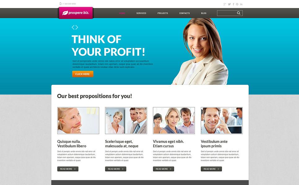 Plantilla Joomla Responsive para Sitio de Sociedad gestora New Screenshots BIG