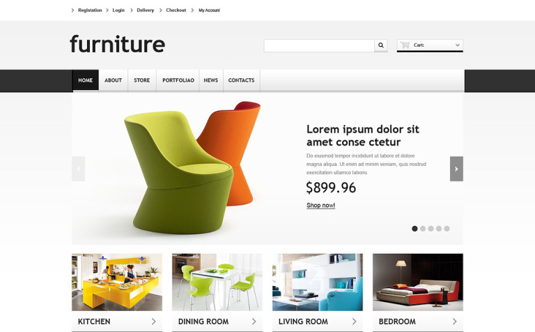 responsive furniture store woocommerce theme 46693