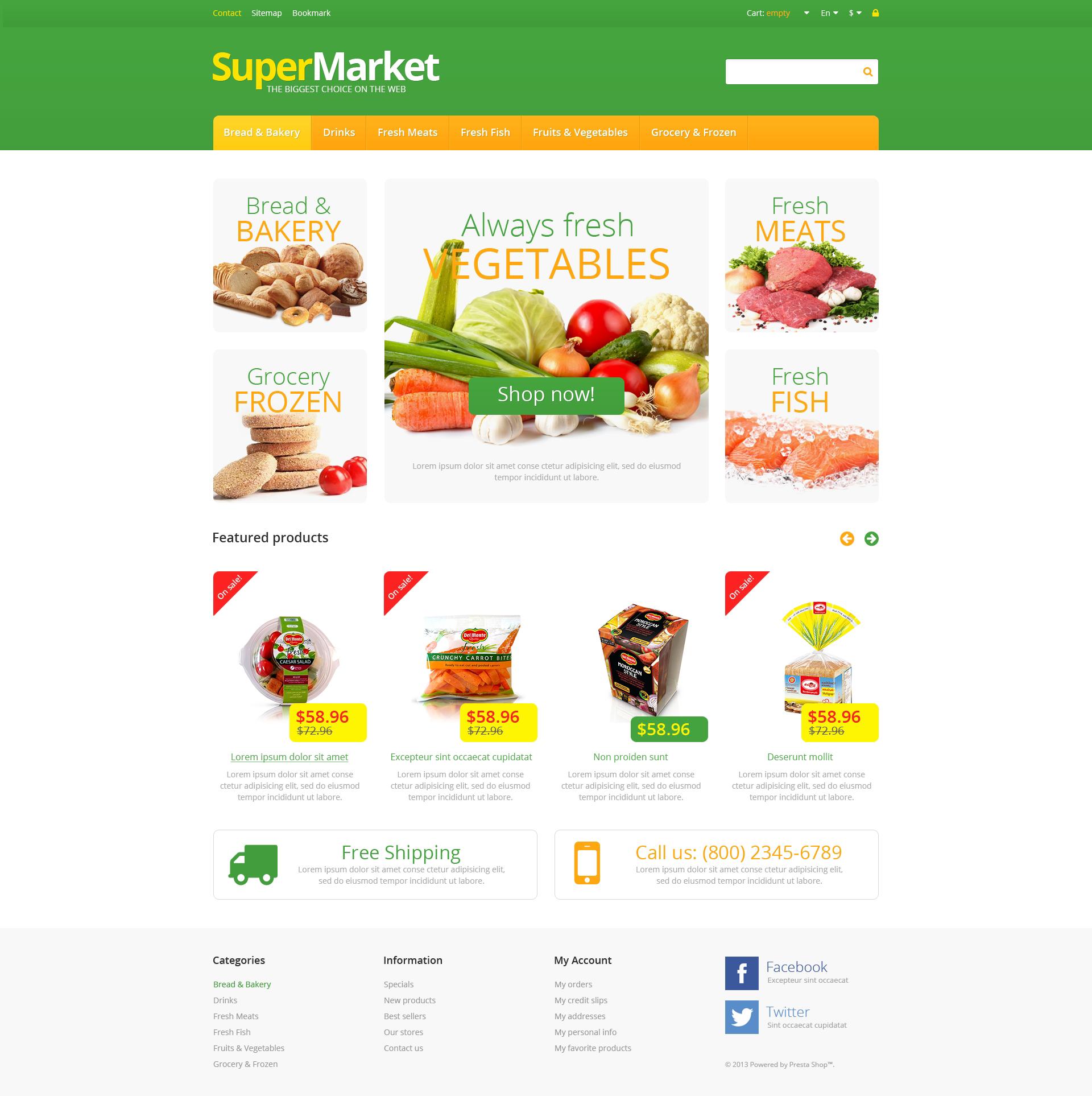 Responsive supermarket prestashop theme 46630 responsive supermarket prestashop theme toneelgroepblik Image collections