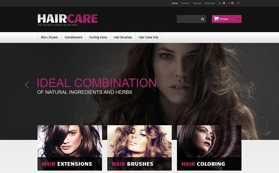 Responsywny szablon PrestaShop #46632 na temat: salon fryzjerski New Screenshots BIG