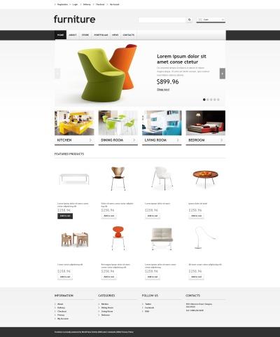 Tema WooCommerce para Sitio de Muebles #46693