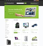 Computers osCommerce  Template 46701
