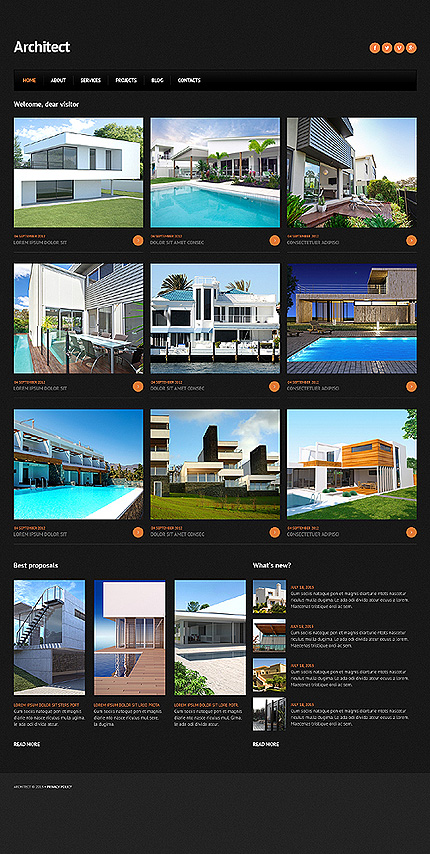 Joomla Theme/Template 46703 Main Page Screenshot