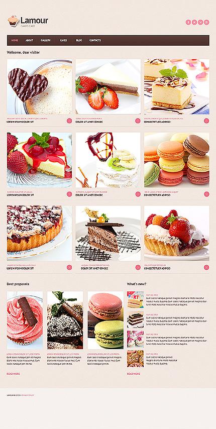 Joomla Theme/Template 46704 Main Page Screenshot