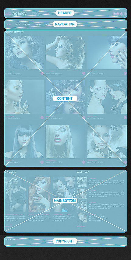 Joomla Theme/Template 46705 Main Page Screenshot