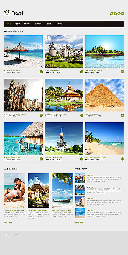 Joomla Theme/Template 46706 Main Page Screenshot