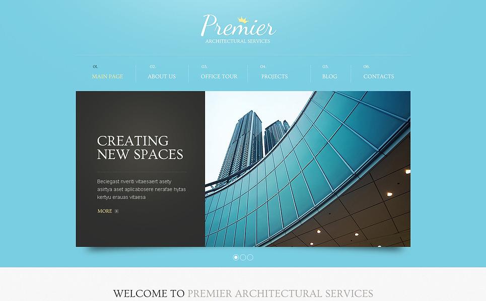 Drupal шаблон на тему архітектура New Screenshots BIG