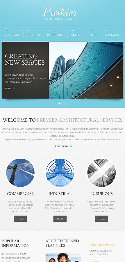 Drupal Template 46712 Main Page Screenshot