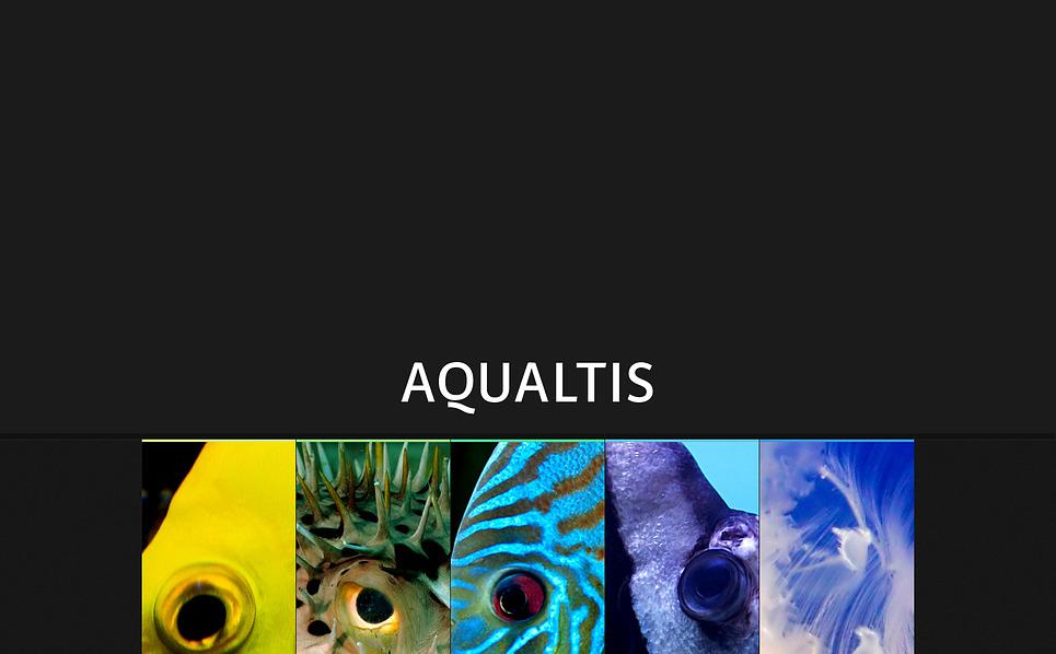 Bootstrap Balık  Web Sitesi Şablonu New Screenshots BIG