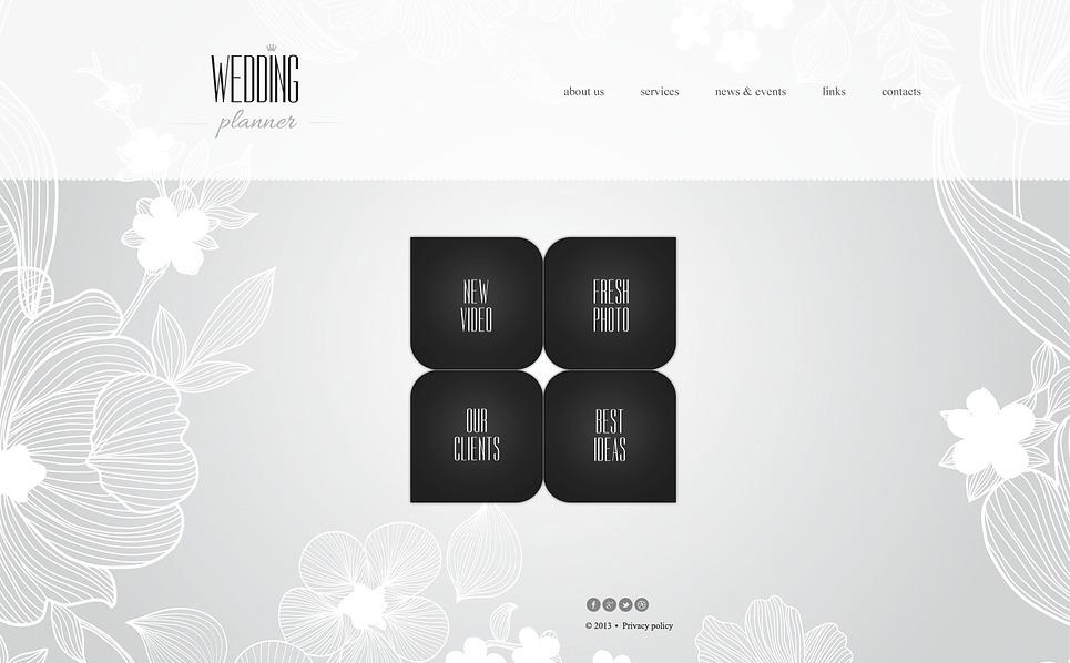 Bootstrap Website template over Huwelijksplanner  New Screenshots BIG