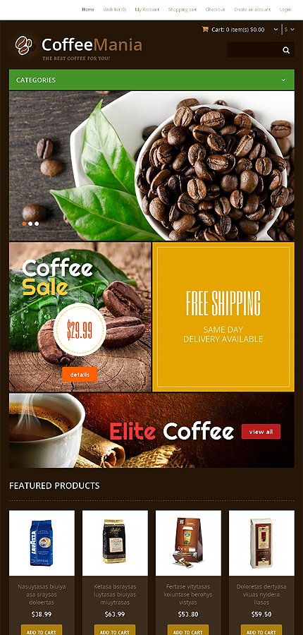 ADOBE Photoshop Template 46726 Home Page Screenshot